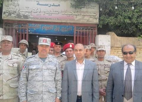 رئيس المحلة: مقاعد خاصة لكبار السن في لجان الاستفتاء