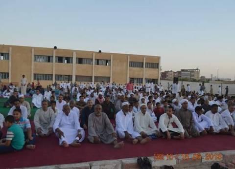 الآلاف يؤدونصلاة عيد الفطر المبارك في الساحاتبالقصير