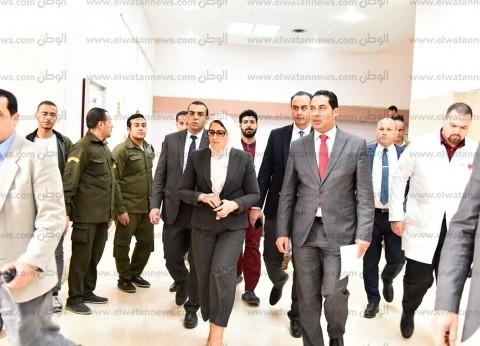 وزيرة الصحة: توفير الرعاية الطبية والنفسية لمصابي وأسر حريق محطة مصر