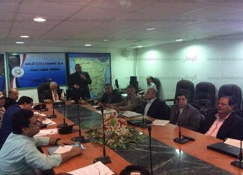 جنوب سيناء تناقش ختام الربع الثالث من الخطة الاستثمارية للعام المالي