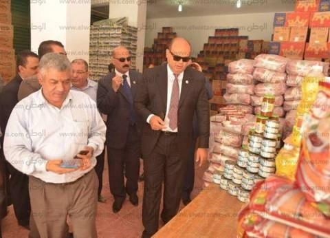 محافظ مطروح ووزير التموين يفتتحان 10 منافذ للسلع الغذائية غدا