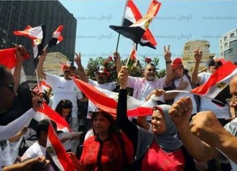 بدء توافد متظاهري القائد إبراهيم بالإسكندرية للاحتفال بذكرى نصر أكتوبر