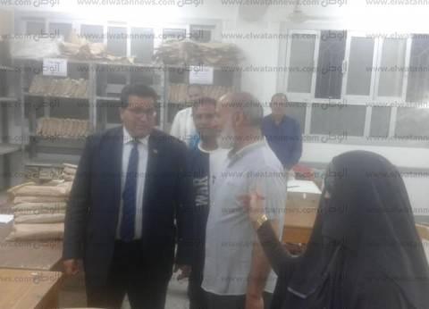 """وكيل """"تعليم جنوب سيناء"""" يطالب كنترول الإعدادية بالدقة في رصد الدرجات"""