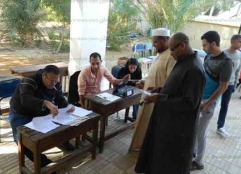 وفود تضم جنسيات أمريكية وفرنسية تراقب سير العملية الانتخابية في بورسعيد