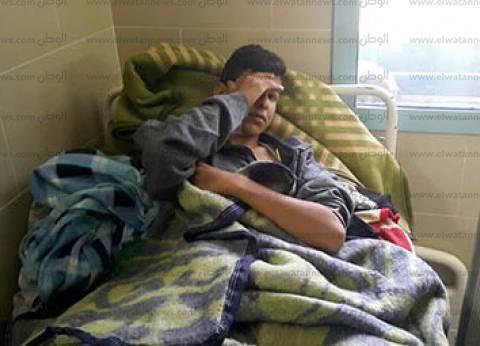 """وفد كنسي يزور مصابي """"حادث العريش"""" بمستشفيات الإسماعيلية"""
