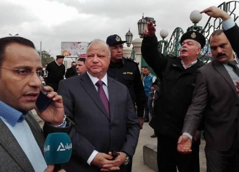 مدير أمن القاهرة يتفقد الوضع الأمني بمحيط مسجد رابعة العدوية