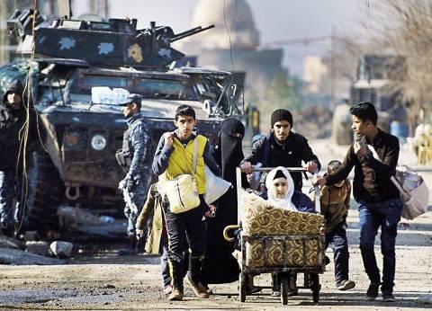 """""""رايتس ووتش"""": حكومة """"كردستان العراق"""" تحتجز رجالا وصبية فروا من القتال في الموصل"""