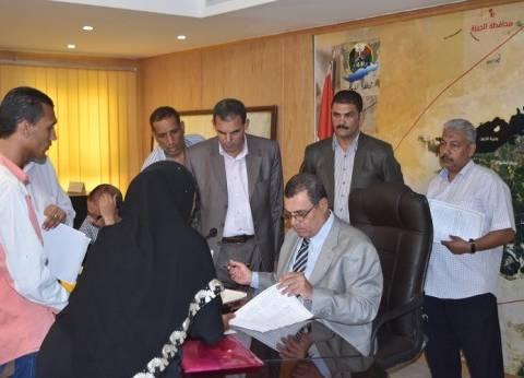 """محافظ الفيوم يشكل لجنة لبحث التعديات على أملاك الدولة في """"بني صالح"""""""