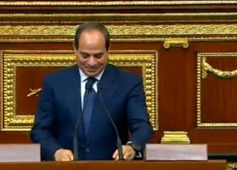 السيسي للمصريين: أروع أيام الوطن ستأتي قريبا ما دامت النوايا صداقة