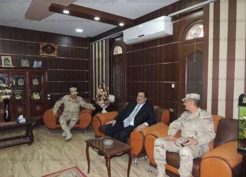 بالصور| وفد من المنطقة الشمالية يهنئ مديرية أمن كفر الشيخ بعيد الشرطة