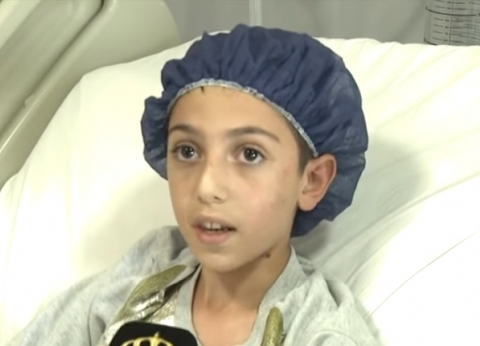 بالفيديو| طفلان ناجيان من كارثة الأردن يرويان تفاصيل الحادث الرهيب