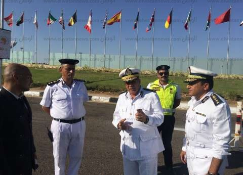 """""""المرور"""": تشديدات مرورية في شرم الشيخ بالتزامن مع مؤتمر اتحاد البنوك"""