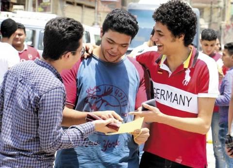 """طلاب """"ثانوية جنوب سيناء"""": """"الجبر والهندسة"""" في مستوى الطالب المتوسط"""