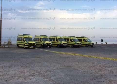 """""""الصحة"""": 27 مصابا في حادثي انقلاب ميكروباصين بالوادي الجديد وطريق بلبيس"""