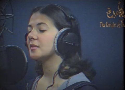 فيديو.. دنيا سمير غانم تسجل صوت