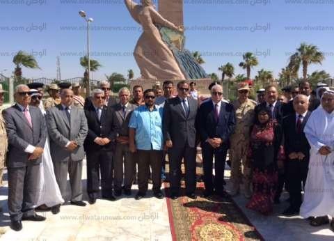 بالصور| مدير أمن جنوب سيناء: القوات المسلحة لن تتخلى عن دورها الوطني تجاه سيناء