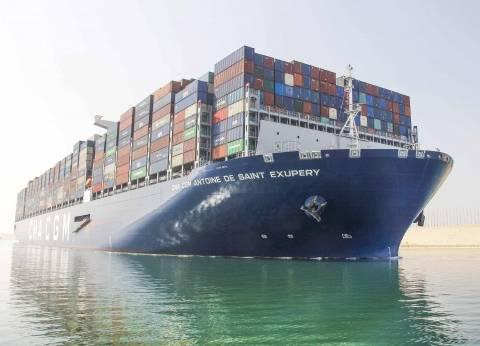 عبور 56 سفينة قناة السويس بحمولة 3.2 مليون طن اليوم