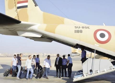 نقل القضاة المشرفين على لجان حلايب وشلاتين بالطيران الحربي إلى مطار برنيس