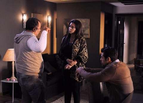"""رانيا يوسف وإياد نصار في مدينة السينما بـ""""سبع أرواح"""""""