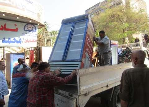 ضبط 31 مخالفة خلال حملة لرفع الإشغالات بمطروح