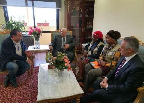 """منتدي """"جالس"""" الأوغندي: نتعهد بنقل مميزات تجربة مصر بالاستفتاء لأفريقيا"""