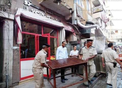 """""""أمن القاهرة"""": تنفيذ 370 قرار إزالة وتحرير 165 محضر إشغال طريق"""