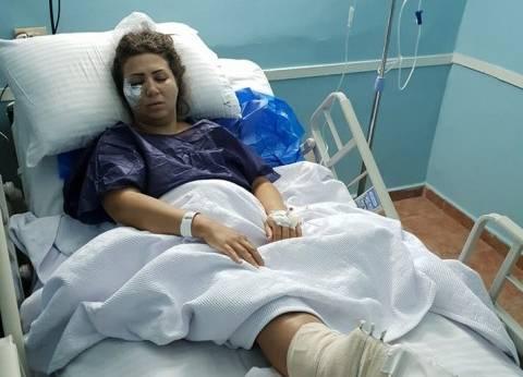 """خروج إيمان عز الدين من """"العمليات"""" بعد جراحة استمرت 5 ساعات"""