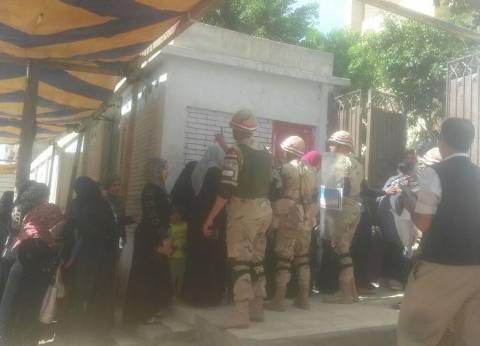 """قيادات """"أمن القاهرة"""" تتفقد اللجان الانتخابية في عين شمس والمطرية"""