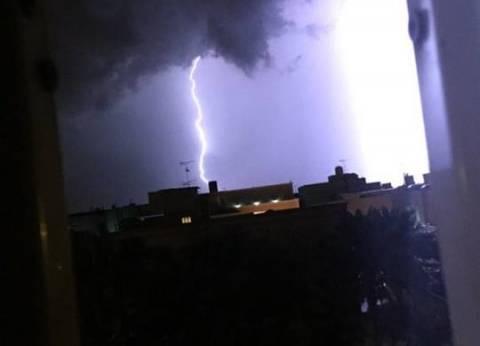 """""""الأرصاد"""" تحذر: أمطار غزيرة على معظم أنحاء الجمهورية تصل حد السيول بسيناء الأربعاء"""