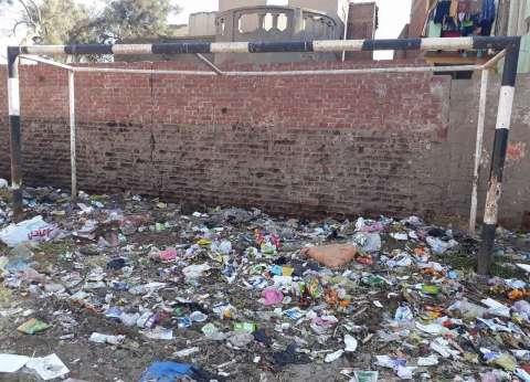 مركز شباب دموه «دقهلية»: «القمامة» تحرس المرمى