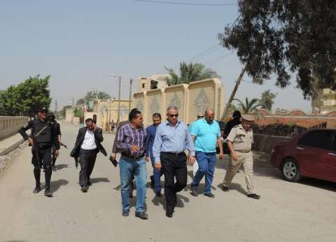 مدير أمن الفيوم يتفقد إدارة قوات الأمن ودير العزب للتأكد من جاهزيتها