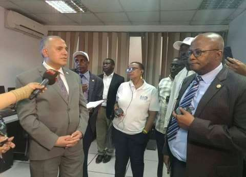 """""""الري"""" تستقبل وفد البرلمان الإفريقي وتنظم جولات لمشروعات الوزارة"""