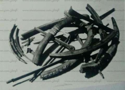 بالصور| كيف كانت عجلة توت عنخ آمون قبل ترميمها في السبعينات؟