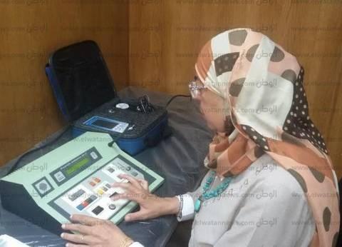 بالصور| تفعيل وتشغيل وحدة طب السمع والاتزان بمستشفى طور سيناء العام