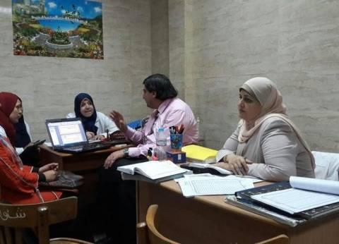 بالصور| فريق الإدارة المركزية للجودة بوزارة الصحة يتفقد مستشفيات دمياط