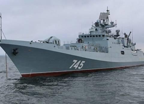 """سفينة حربية روسية تعبر مضيق """"الدردنيل"""" التركي نحو سوريا"""