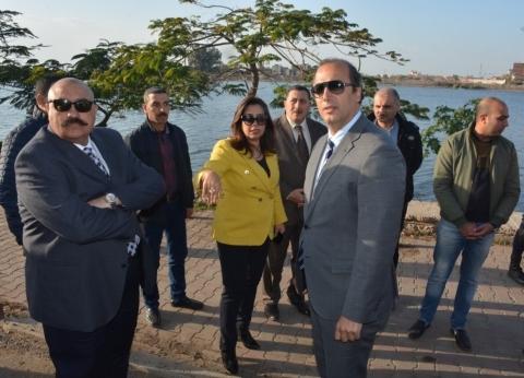 """محافظ دمياط ومدير تنفيذي صندوق """"تحيا مصر"""" يتفقدان أرض مشروع """"306"""""""