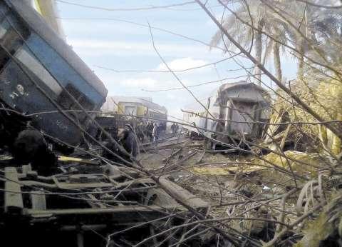 وزير النقل ورئيس السكة الحديد يتوجهان إلى موقع حادث قطاري البحيرة