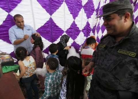 الأمن المركزي يقيم حفلًا لأبناء الشهداء بمناسبة يوم اليتيم