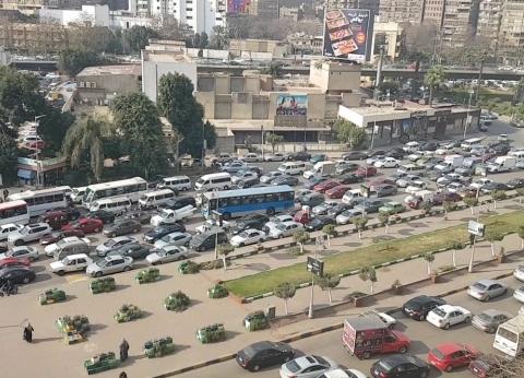 تحويلات مرورية بشارع جامعة الدول العربية لمدة 3 سنوات لإنشاء محطة مترو