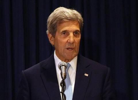 """وزير الخارجية الأمريكي يبحث مع نظيره القطري """"الأزمة السورية"""" ومحاربة """"داعش"""""""