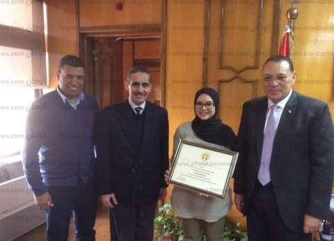 """""""القناة"""" تفوز بأفضل 5 مبادرات بيئية على مستوى الجامعات المصرية"""