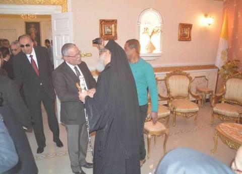 """أسقف المنيا يشيد بخطة تأمين الكنائس: """"غير مسبوقة"""""""