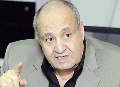 """وحيد حامد يدلي بصوته في انتخابات """"المهن السينمائية"""""""