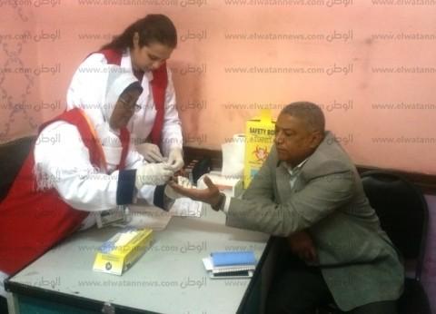 """بدء فعاليات حملة """"100 مليون صحة"""" في أسوان"""