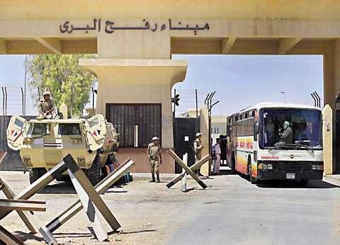 وصول الفوج الأول من الحجاج الفلسطينيين لمعبر رفح
