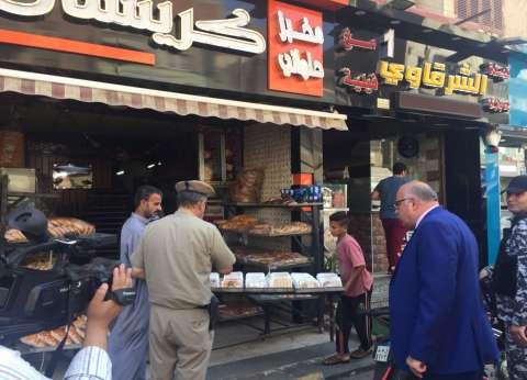 مدير أمن القليوبية يقود حملة إعادة الانضباط في بنها