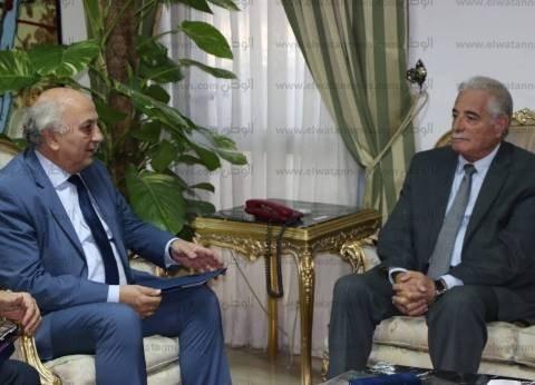 بالصور| محافظ جنوب سيناء يستقبل نائب وزير خارجية اليونان بشرم الشيخ