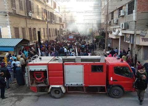 عاجل| حريق هائل في الهرم والدفع بـ10 سيارات إطفاء