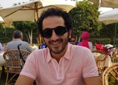"""أحمد حلمي: حسن حسني """"بُهارات"""" أي عمل فني يشارك فيه"""